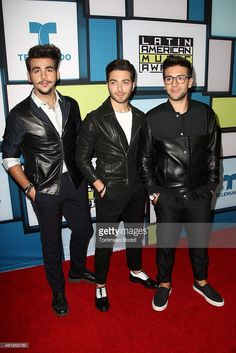 Marcus schenkenberg rudolph moshammergala premiere sekretrinnen pop trio il volo pose in the press room during the telemundos latin american music awards 2015 held at dolby theatre on october 8 2015 in hollywood thecheapjerseys Gallery