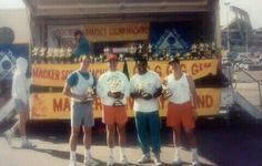 Jeff Altman, Barry Alman, Monte Jackson,  and Steven Altman