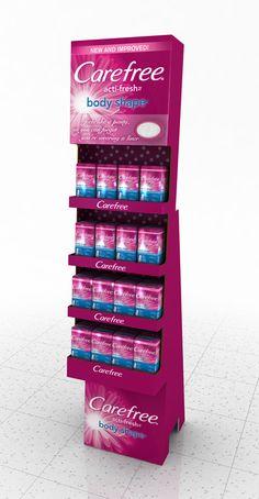Carefree Displays by Ricky Cordero at Coroflot.com