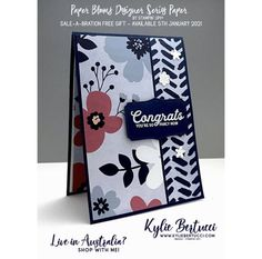 Card Making Templates, Card Making Kits, Card Making Supplies, Card Making Tutorials, 123 Cards, Birthday Cards For Women, Stamping Up Cards, Card Making Inspiration, Card Maker