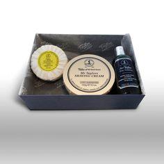 Mr Taylor Gift Box-  hand soap, hair & body shampoo, shaving cream bowl
