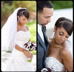 Bridal Hair and Airbrush Makeup by www.glistencreations.com