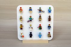 Created and designed for #Lego lovers of all ages. An exclusive product, elegant and made of high quality wood, so you can expose your collection in original way.   www.MinifiguresDisplay.com exclusive product.   This product is also ideal for the little ones as it has no glass front. Thus you can place and remove your #minifigures easily. Due to its low weight it is very easy to handle. #legoframe #legominifigures #legodisplay #minifigures #legokids #legostarwars #starwars #christmas #gift