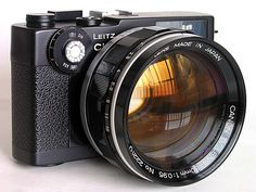 Want. Leica CL with Canon 50mm f/0,95 Dream Lens | Flickr - Photo Sharing!