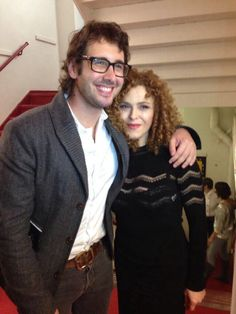 Josh Groban and Bernadette Peters- I will meet them, if you please.