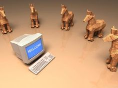 Trojan horse  - a program that hides within or looks like a legitimate program