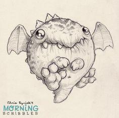 Image result for chris ryniak morning scribbles