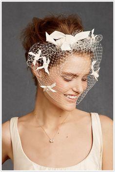 BHLDN wedding hair accessories