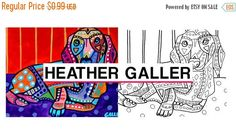 50% Off Today- Dachshund Art coloring, coloring book, adult coloring book, coloring pages, adult coloring pages, coloring book for adults, p