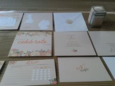 Wedding stationery for Nina Dietrich