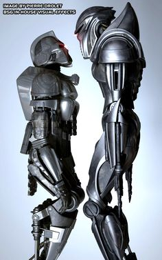 Cylon stand-off.