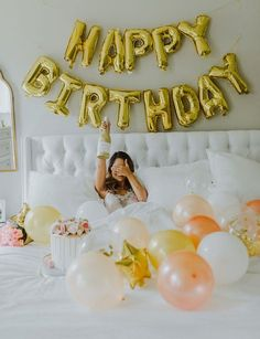 Ideas Birthday Decorations Balloons Pictures For 2019 27 Birthday Ideas, Cute Birthday Pictures, Birthday Goals, 28th Birthday, Birthday Woman, Birthday Parties, Cake Birthday, Birthday Photoshoot Ideas, Birthday Ideas For Women