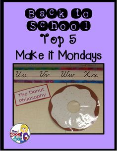 Read about some quick, cheap, and easy ideas for Back to School Top 5 Make it Mondays!