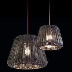 ZANEEN design Ralph Metallic brown with orange 1 -Bulb H Mains only Outdoor Pendant Rattan Shades, House Paint Interior, Outdoor Lamp, Bulb, Suspension Lamp, Pendant Lamp, Lights, Outdoor Lighting, Outdoor Pendant Lighting