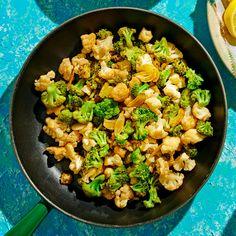 Broccoli Cauliflower Casserole, Cauliflower Crust Pizza, Cauliflower Recipes, Broccoli Recipes, Side Recipes, Vegetable Recipes, Whole Food Recipes, Healthy Recipes, Veggie Dishes