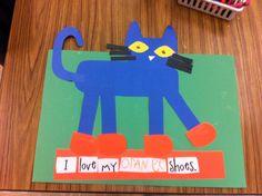 Pete the Cat Unit Craft