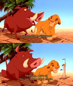 This movie was part of my childhood!<<< Who else here loves The Lion King 1 1/2 as well as 1 and 2???