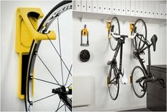 ENDO BICYCLE WALL MOUNT - http://www.gadgets-magazine.com/endo-bicycle-wall-mount/