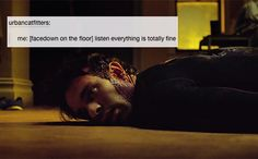 Daredevil + text post | how I've been feeling way too much recently.