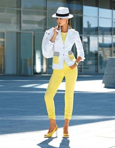 Citrus color combination for Spring/Summer