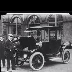 U.S. Edison electric car 1913