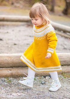 Gudrunkjole #bystrikk To My Daughter, Pullover, Knitting, Sweaters, Crafts, Craft Ideas, Fashion, Wraps, Moda