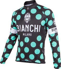 Bianchi-Milano Celeste Polka Dot LS Jersey