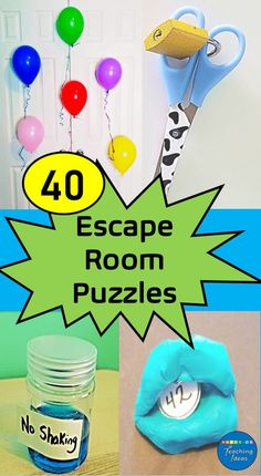 Create an escape room for kids or adults, at home! 40 DIY escape room ideas using materials from around your house to create an escape room your players won't soon forget. Escape Room Diy, Escape Room For Kids, Escape Room Puzzles, Kids Room, Escape Room Challenge, Activities For Kids, Crafts For Kids, Diy Crafts, Science Games For Kids