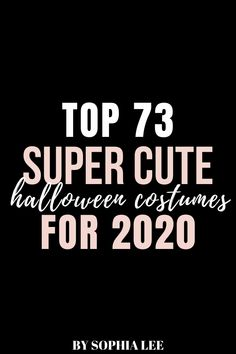 this was the best list of college halloween costumes I've found!! so many cute ideas