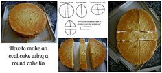 how to make an oval cake - easy show how