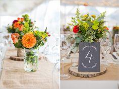 cute rustic reception decor @weddingchicks