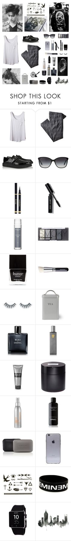 """""""""""You smile back in our pictures, unknowing of our approaching farewell"""" (Taeyang)"""" by happine-ss ❤ liked on Polyvore featuring mode, Hiltl, Yves Saint Laurent, Bulgari, Bobbi Brown Cosmetics, Sachajuan, H&M, Butter London, Napoleon Perdis en Garden Trading"""