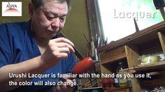 "Urushi Lacquered traditional crafts |large sake cup SHINBASHI ""KINTAI RE..."