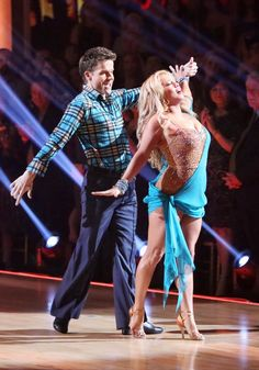 Dancing With The Stars: All-Stars Week 6 Louis and Sabrina