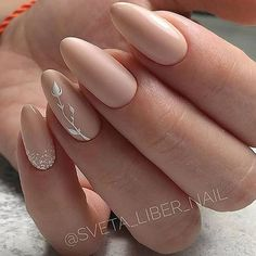 Want some ideas for wedding nail polish designs? This article is a collection of our favorite nail polish designs for your special day. Almond Acrylic Nails, Cute Acrylic Nails, Gorgeous Nails, Pretty Nails, Amazing Nails, Hair And Nails, My Nails, Wedding Nail Polish, Pointed Nails