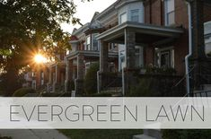 Evergreen Lawn is a historic community in West Baltimore with a strong base of long-term homeowners. The neighborhood features several tree-lined blocks of three and four-bedroom historic rowhomes complete with front lawns just a short walk to the West Baltimore MARC train station. Union Station, Train Station, Baltimore Neighborhoods, Northern Virginia, Lawns, Evergreen, The Neighbourhood, Real Estate, Backyard