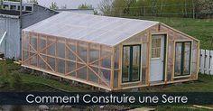 Comment construire une Serre en Bois - Guide et Plan de construction d'une serre de jardin - Étapes de construction d'une serre