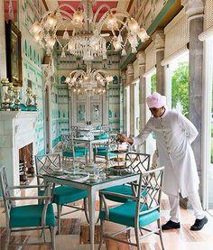 colonnade restaurant sujan rajmahal palace