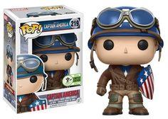 Captain America: Rescue version Captain America Pop figure by Funko, 2017 Emeral City Comicon exclusive