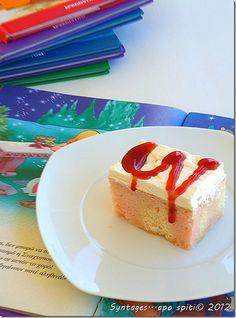 Κέικ με σιρόπι ζελέ syntagesapospiti.blogspot.gr