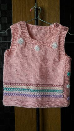 For 2 age Crochet Bebe, Baby Vest, Baby Knitting, Charity, Kids Outfits, Shorts, Sewing, Children, Heart