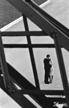 Marc Riboud // Paris, Eiffel - Tower, 1964