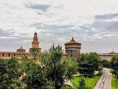 Milan - Piazza Castello.. : @franco_spadoni #milanodavedere Milano da Vedere