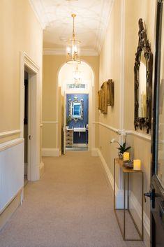 Ground floor hallway, Howard Place - I love the pendant lanterns Holiday Accommodation, Lantern Pendant, Ground Floor, Catering, Lanterns, Patio, Flooring, Luxury, Places