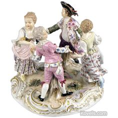 meissen porcelain figural group - Antique Meissen porcelain prices have dropped about 50 percent in the past 20 years.