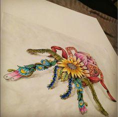 Floral Tarantula by Sacha de Speville