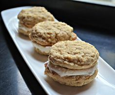 Gluten Free, dairy free Oatmeal Cream Pies