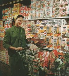 Vintage supermarket  ❁❁ Maude and Hermione on Pinterest ❁❁
