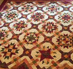 Made by Alison Lovallo: Mulberry Stars designed by A Wing and a Prayer Sampler Quilts, Star Quilts, Scrappy Quilts, Machine Quilting Patterns, Quilt Patterns, Quilt Sets, Quilt Blocks, Christmas Prayer, Quilting Projects