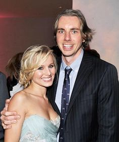 Kristen Bell Is Engaged to Dax Shepard! - Us Weekly Kristen Bell And Dax, Dax Shepard, Party Themes, Theme Ideas, Celebs, Celebrities, Hunger Games, Celebrity News, Actors & Actresses